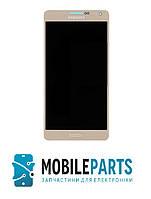 Дисплей для Samsung A7 | A700 с сенсорным стеклом Яркость регулируется (Золотой) TFT подсветка оригинал