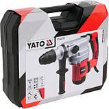 Перфоратор сетевой 1050 Вт SDS-MAX YATO YT-82130 (Польша), фото 9