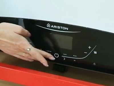 Регулировка температуры нагрева газового котла Ariston GENUS X 35 FF NG