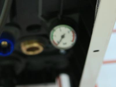 Измерение давления газового котла Ariston GENUS X 35 FF NG