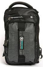 Мужская сумка-рюкзак  SKYBOW 10681 black