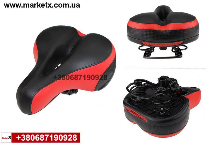 Мягкое сиденье на велосипед седло сидение качественное очень мягкое