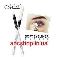 Водостойкий белый карандаш Me Now Soft Eyeliner