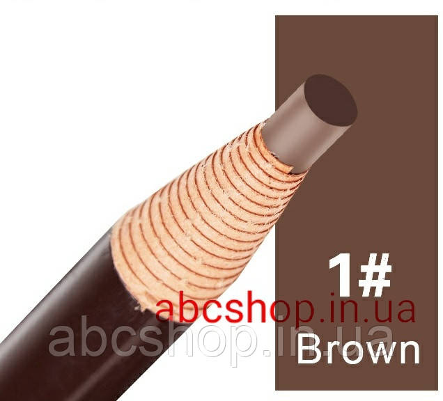 Карандаш с ниткой самозатачивающийся (коричневый) Brown