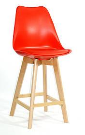 Полубарный стул Milan, красный