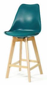 Полубарный стул Milan, бирюзовый