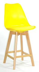 Полубарный стул Milan, желтый