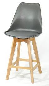 Полубарный стул Milan, темно-серый