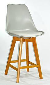 Полубарный стул Milan, серый