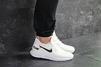 Кроссовки мужские белые Wonex, белые кроссовки nike (Реплика)