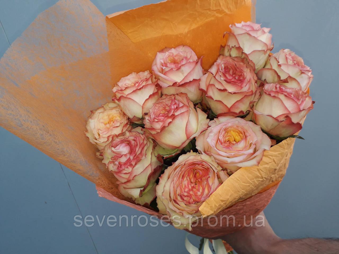 """Букет из розы """"Miraculous"""" 11шт, (60см)"""