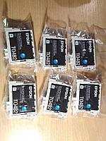 Картридж Epson T0482 Epson Stylus Photo-R200, R220, R300, R320, R340, RX500, RX600 C13T04824010 голубой