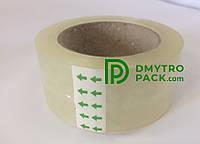 Скотч прозрачный 48мм*50мкм*100м упаковочный (клейкая лента)