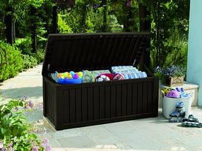 Ящик для хранения Rockwood Storage Box 570 л Коричневый (Time Eco TM)