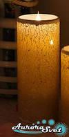 Светодиодные свечи набор 3 шт. Световой декор. Светодиодные светильники от Aurorasvet.