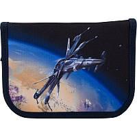 Пенал Kite Education Spaceship K19-622-12, 1 отделение, 2 отворота, фото 1