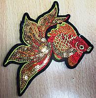 """Красивая  вышивка """"Золотая рыбка"""" от студии LadyStyle.Biz, фото 1"""
