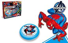 Дитячий м'яч електричний Hoverball Spider Man (Fly Ball) Новинка 2017