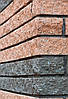 Фасадный камень пустотелый 250х100х65, венге, Авеню