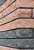 Фасадный камень пустотелый 250х100х65, вишня, Авеню