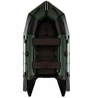 Надувная лодка пвх AquaStar С-310 FSD зеленая