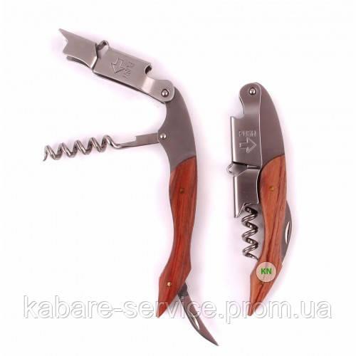 Нож для официанта, штопор\открывалка, Co-Rect, деревянная ручка
