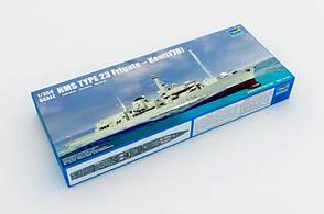 Сборная модель английского фрегата КЕНТ. 1/350 TRUMPETER 04544