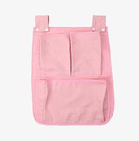 Органайзер на детскую кроватку Маленький Розовый
