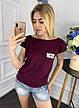 Женская футболка из вискозы , фото 4