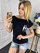 Женская футболка из вискозы , фото 2