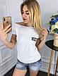 Женская футболка из вискозы , фото 3