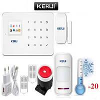 GSM сигнализация G-18 G18 KERUI Керуи Premium + морозоустойчивость