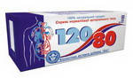 """""""120/80"""" 40 таб. Как мощный антиоксидант с сосудоукрепляющим действием"""