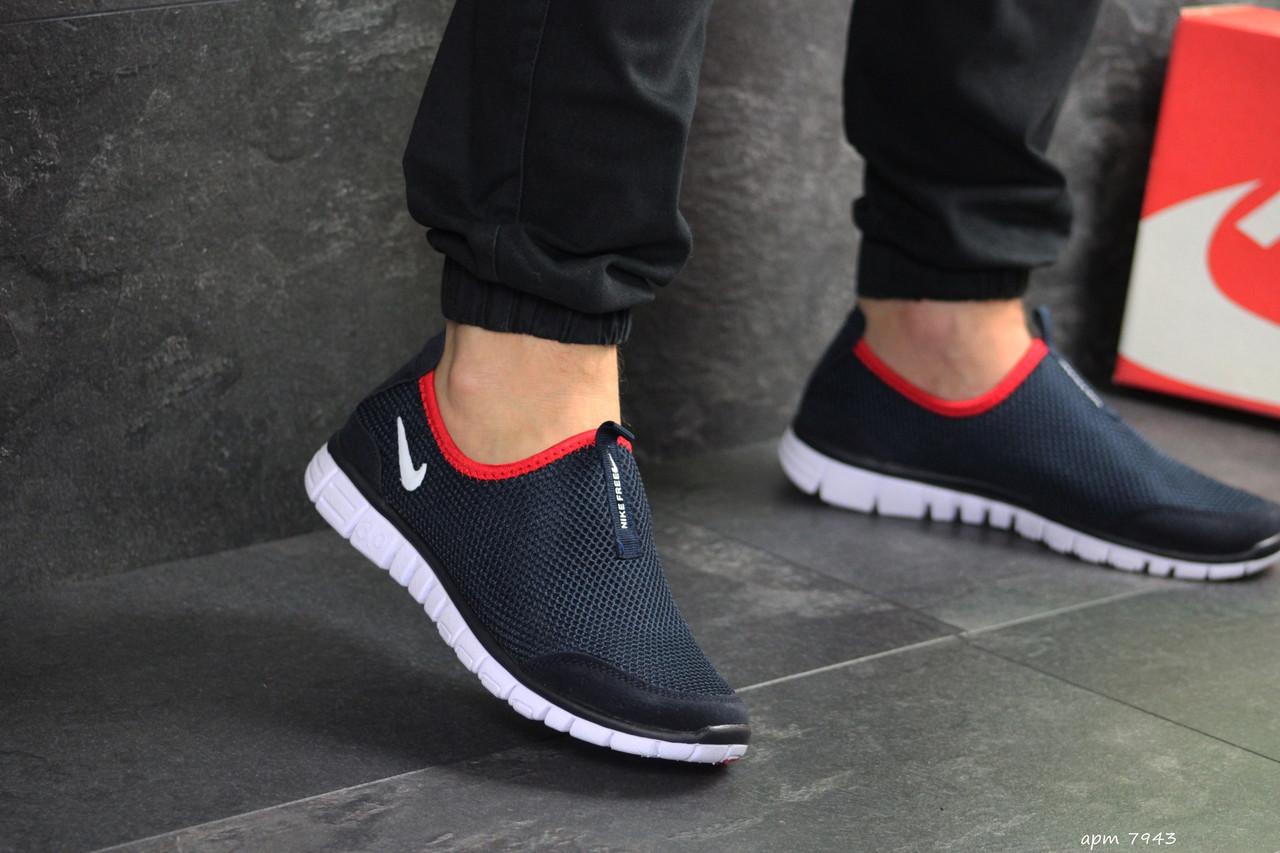 bb21f705 Мужские кроссовки Nike Free Run 3.0 синий, цена 738 грн., купить в Киеве —  Prom.ua (ID#980444515)
