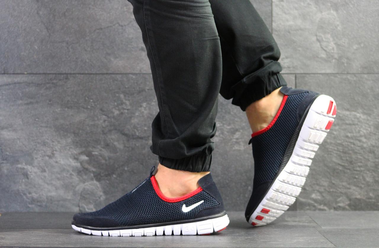 f32243a2 Мужские кроссовки Nike Free Run 3.0 синий, цена 738 грн., купить в ...