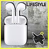 Беспроводные наушники Airpods2 с гарнитурой Mic Bluetooth для Iphone/Android - Фото