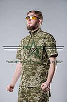 Рубашка  тактическая  летняя пиксель ЗСУ 44-46, фото 1