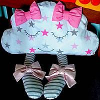 Подушка детская декоративная в кроватку, фото 1