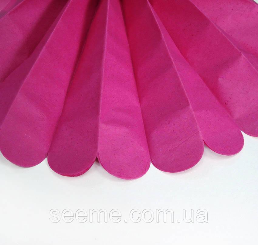 Бумажные помпоны из тишью «Cerize», диаметр 25 см.