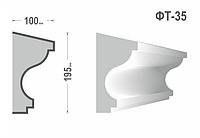 Фасадный молдинг (Тяга) фт-35