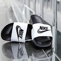 Сланцы Nike мужские , черные , тапочки