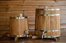 Бочка (жбан) дубовый для напитков 60 литров (вертикальный), фото 3