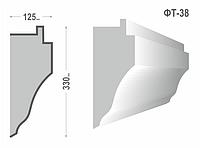 Фасадный молдинг (Тяга) фт-38