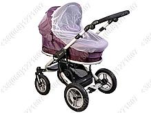 Москитная сетка на коляску люльку универсальная, фото 3