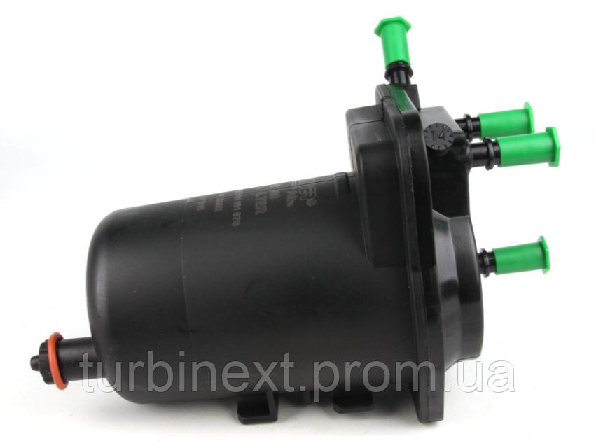 Фильтр топливный Renault Kangoo 1.5DCI (+датчик воды) WUNDER WB-800