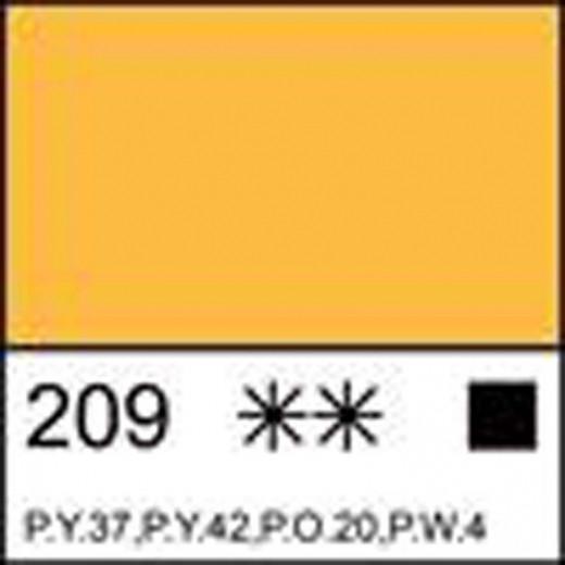 Фарба масляна МАСТЕР-КЛАСС неаполітанська жовта, 46мл ЗХК