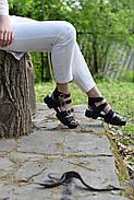 Женские босоножки Windrose с ремешками , фото 4