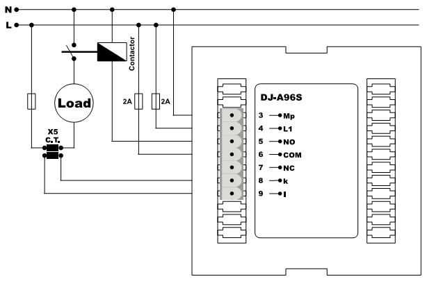 амперметр цифровой с контролем мин макс значений тока напряжения
