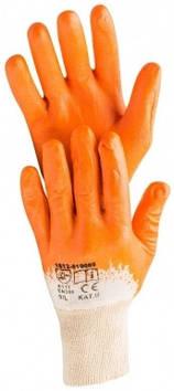 Перчатки рабочие нитриловые Hardy, размер XL, 12 пар