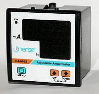 Амперметр с релейным выходом мин/макс значений тока цифровой щитовой панельный 96х96 мм
